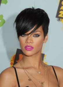 Rihanna with a Pixie Cut- One of The 8 Most Popular HAIRcuts of 2012