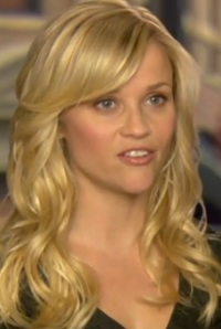 Reese Witherspoon- With Sideswept Bangs