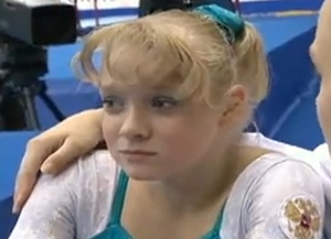 Tatiana Nabieva with 90's bangs