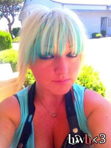 Kool Aid Color Bangs