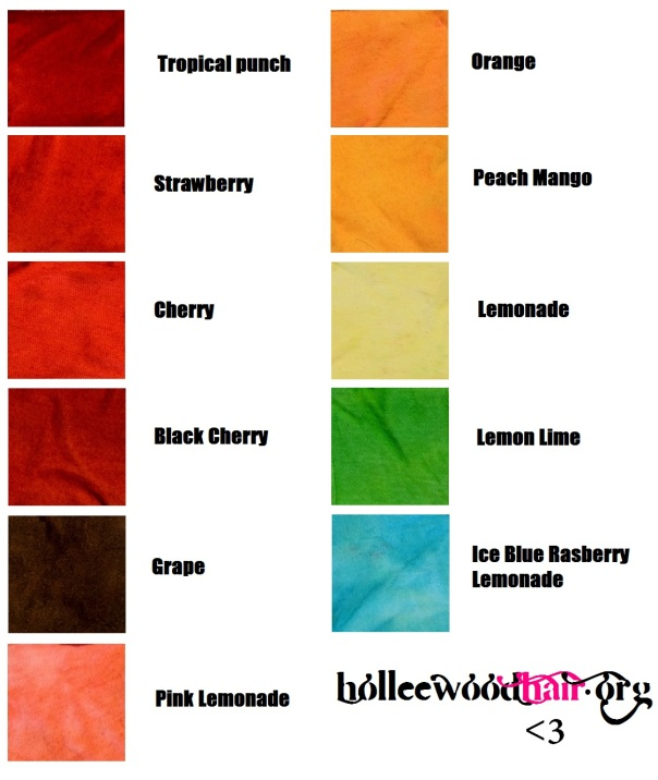 kool aid hair dye color combinations brown hairs