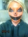 Pumpkin Face Makeup