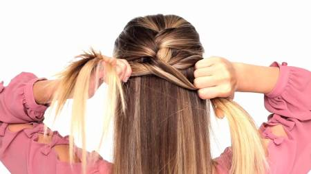 French braid your hair at night to help it grow faster.