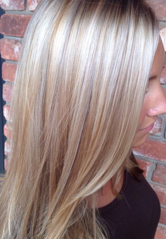 Natural Blonde Highlights On Brown Hair Holleewood Hair